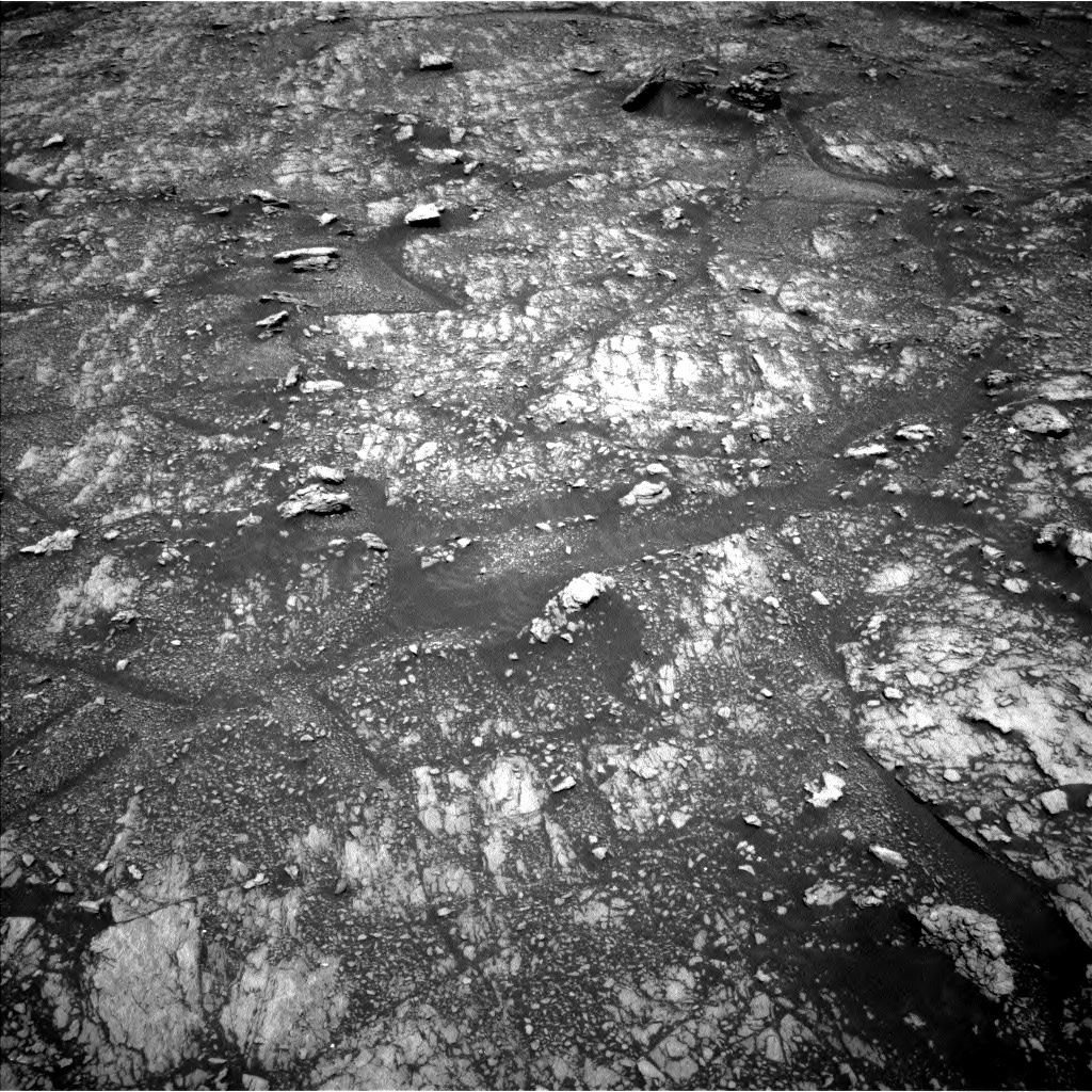 Nasa's Mars rover Curiosity acquired this image using its Left Navigation Camera on Sol 2936, at drive 1220, site number 83