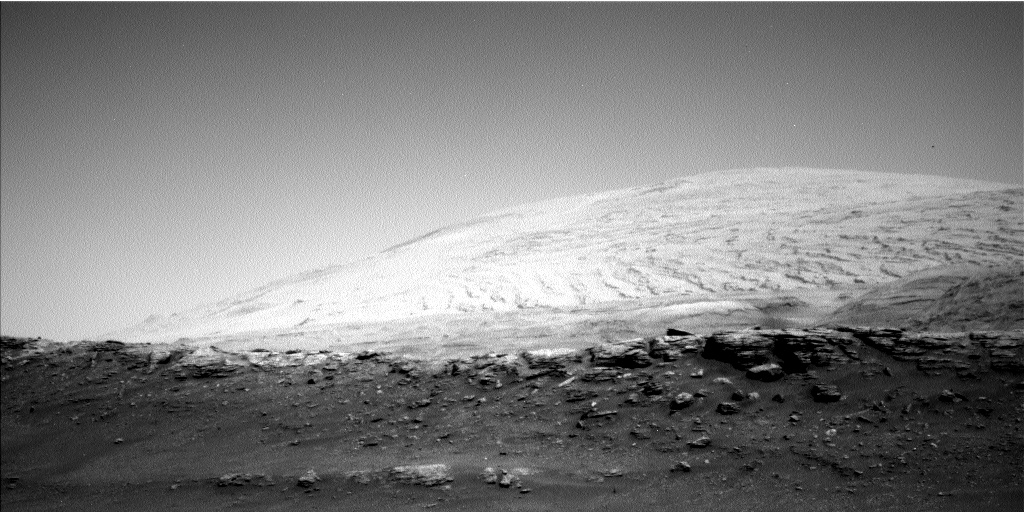 Nasa's Mars rover Curiosity acquired this image using its Left Navigation Camera on Sol 2936, at drive 1278, site number 83