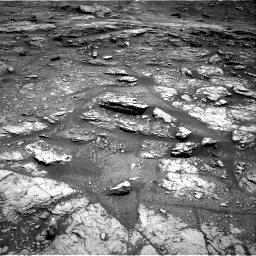 Nasa's Mars rover Curiosity acquired this image using its Right Navigation Camera on Sol 2936, at drive 1034, site number 83