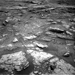 Nasa's Mars rover Curiosity acquired this image using its Right Navigation Camera on Sol 2936, at drive 1040, site number 83