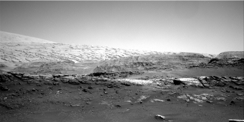 Nasa's Mars rover Curiosity acquired this image using its Right Navigation Camera on Sol 2936, at drive 1278, site number 83