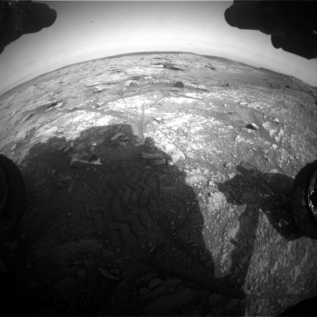 Nasa's Mars rover Curiosity acquired this image using its Front Hazard Avoidance Camera (Front Hazcam) on Sol 2937, at drive 1278, site number 83