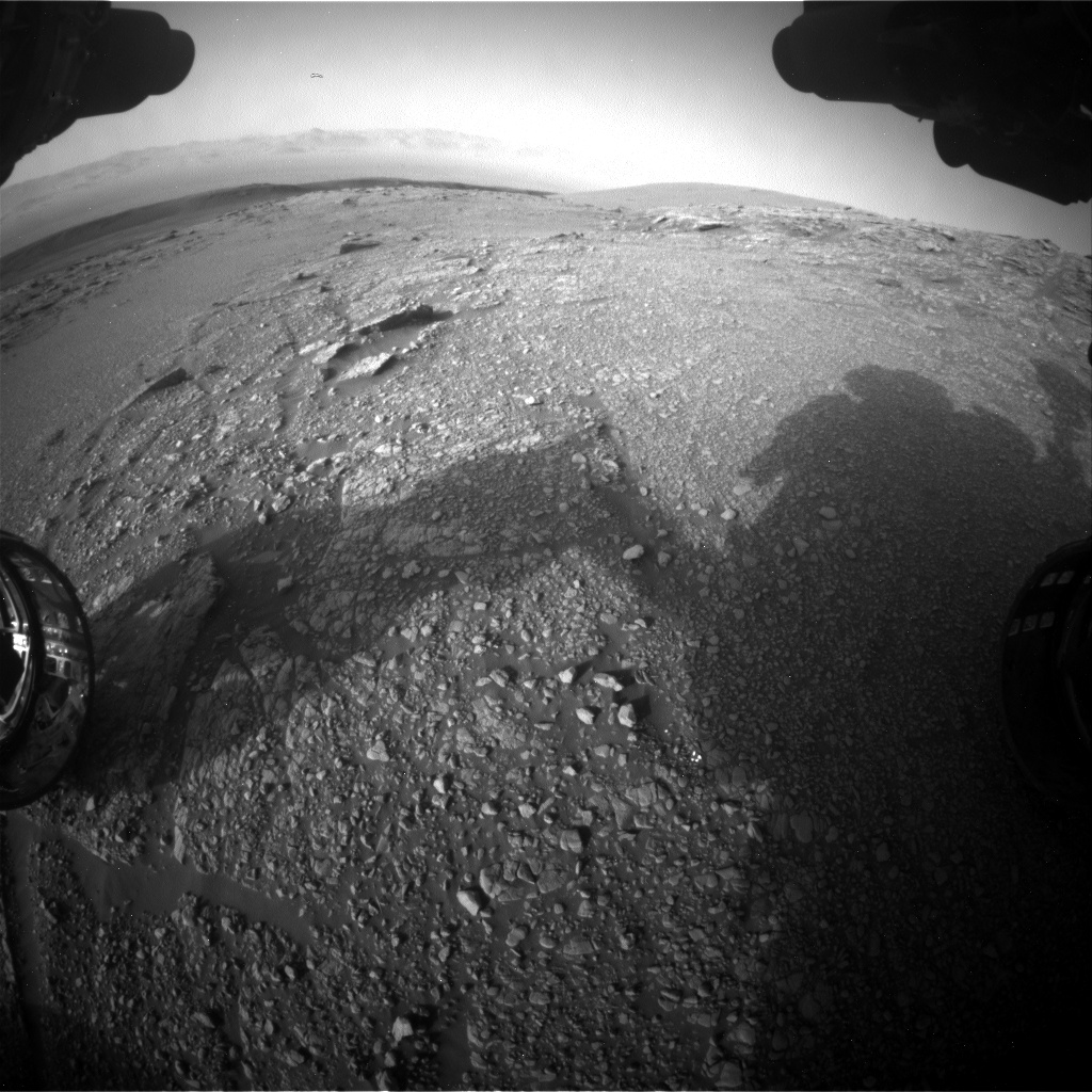 Nasa's Mars rover Curiosity acquired this image using its Front Hazard Avoidance Camera (Front Hazcam) on Sol 2938, at drive 1518, site number 83