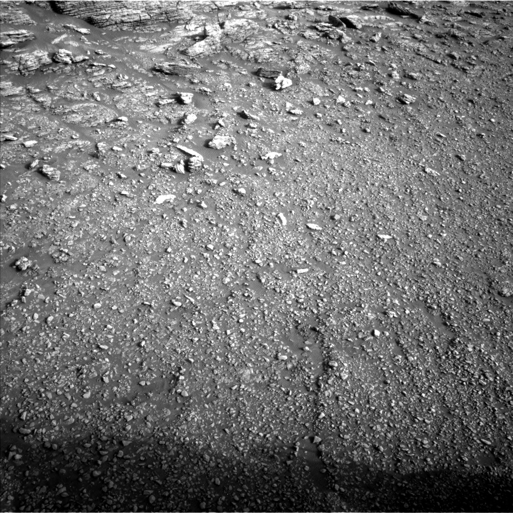 Nasa's Mars rover Curiosity acquired this image using its Left Navigation Camera on Sol 2938, at drive 1518, site number 83
