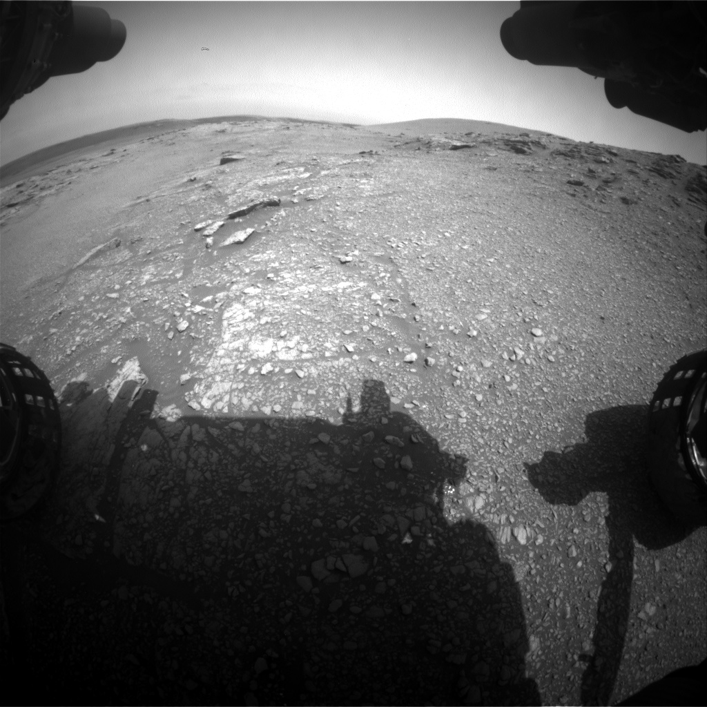 Nasa's Mars rover Curiosity acquired this image using its Front Hazard Avoidance Camera (Front Hazcam) on Sol 2939, at drive 1518, site number 83