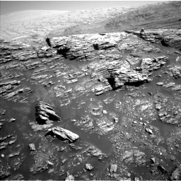 Nasa's Mars rover Curiosity acquired this image using its Left Navigation Camera on Sol 2940, at drive 1572, site number 83