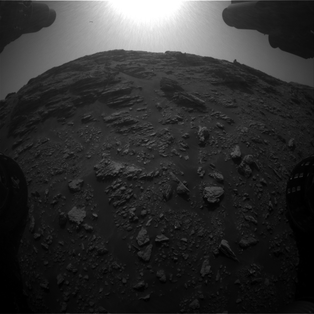 Nasa's Mars rover Curiosity acquired this image using its Front Hazard Avoidance Camera (Front Hazcam) on Sol 2941, at drive 1584, site number 83
