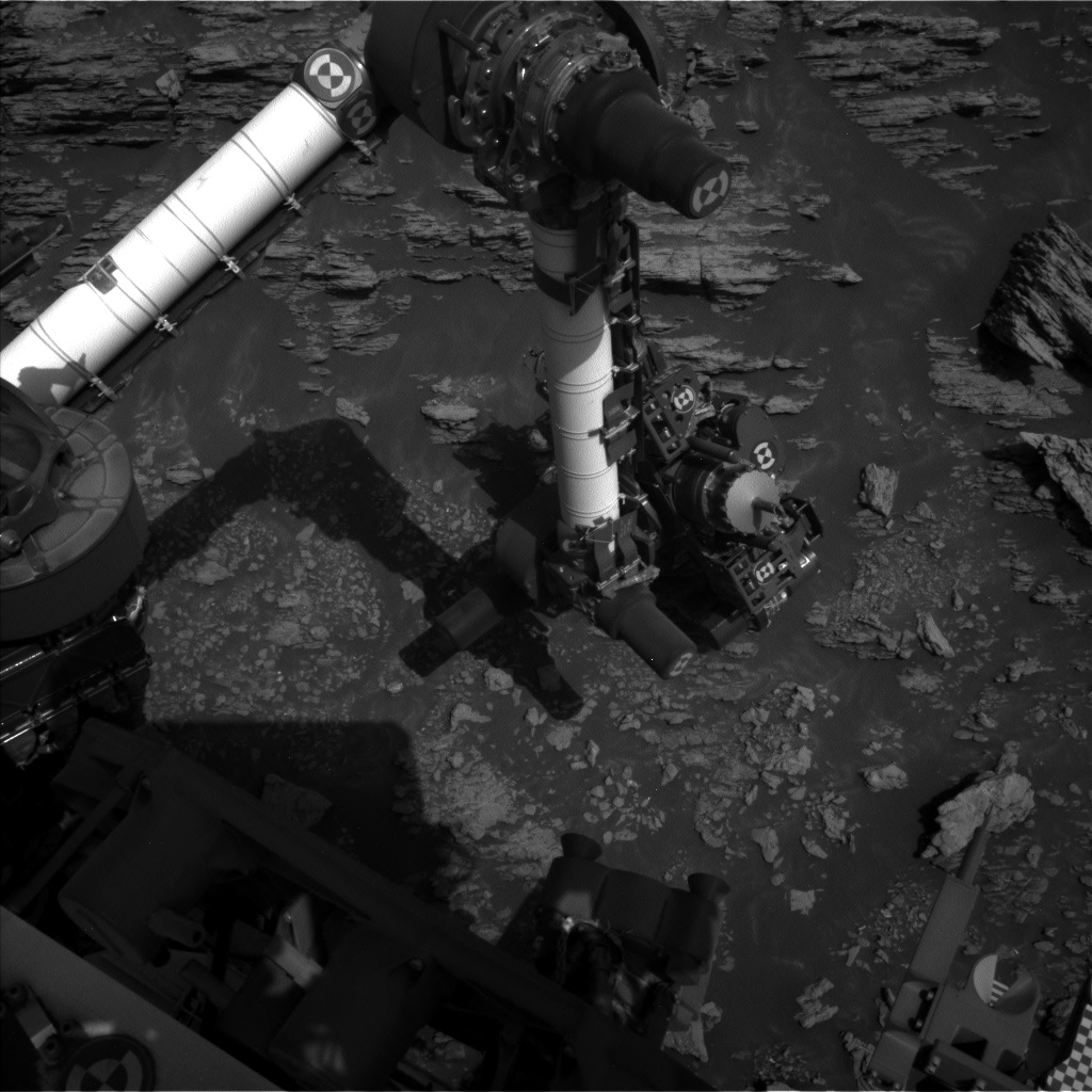 Nasa's Mars rover Curiosity acquired this image using its Left Navigation Camera on Sol 2942, at drive 1584, site number 83