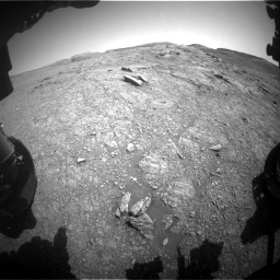 Nasa's Mars rover Curiosity acquired this image using its Front Hazard Avoidance Camera (Front Hazcam) on Sol 2943, at drive 1848, site number 83