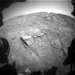 Nasa's Mars rover Curiosity acquired this image using its Front Hazard Avoidance Camera (Front Hazcam) on Sol 2943, at drive 1872, site number 83