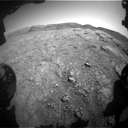 Nasa's Mars rover Curiosity acquired this image using its Front Hazard Avoidance Camera (Front Hazcam) on Sol 2943, at drive 1920, site number 83
