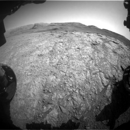 Nasa's Mars rover Curiosity acquired this image using its Front Hazard Avoidance Camera (Front Hazcam) on Sol 2943, at drive 1944, site number 83
