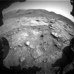 Nasa's Mars rover Curiosity acquired this image using its Front Hazard Avoidance Camera (Front Hazcam) on Sol 2943, at drive 1968, site number 83