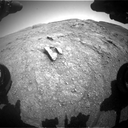 Nasa's Mars rover Curiosity acquired this image using its Front Hazard Avoidance Camera (Front Hazcam) on Sol 2943, at drive 1860, site number 83