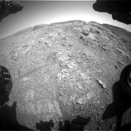 Nasa's Mars rover Curiosity acquired this image using its Front Hazard Avoidance Camera (Front Hazcam) on Sol 2943, at drive 1884, site number 83
