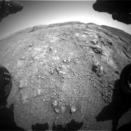 Nasa's Mars rover Curiosity acquired this image using its Front Hazard Avoidance Camera (Front Hazcam) on Sol 2943, at drive 1896, site number 83