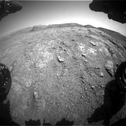 Nasa's Mars rover Curiosity acquired this image using its Front Hazard Avoidance Camera (Front Hazcam) on Sol 2943, at drive 1908, site number 83