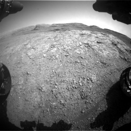 Nasa's Mars rover Curiosity acquired this image using its Front Hazard Avoidance Camera (Front Hazcam) on Sol 2943, at drive 1932, site number 83