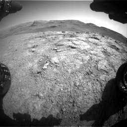 Nasa's Mars rover Curiosity acquired this image using its Front Hazard Avoidance Camera (Front Hazcam) on Sol 2943, at drive 1956, site number 83