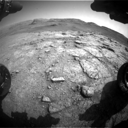 Nasa's Mars rover Curiosity acquired this image using its Front Hazard Avoidance Camera (Front Hazcam) on Sol 2943, at drive 1962, site number 83