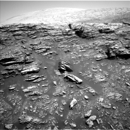 Nasa's Mars rover Curiosity acquired this image using its Left Navigation Camera on Sol 2943, at drive 1590, site number 83