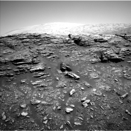 Nasa's Mars rover Curiosity acquired this image using its Left Navigation Camera on Sol 2943, at drive 1596, site number 83