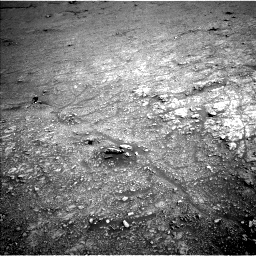 Nasa's Mars rover Curiosity acquired this image using its Left Navigation Camera on Sol 2943, at drive 1716, site number 83