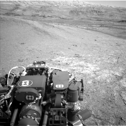 Nasa's Mars rover Curiosity acquired this image using its Left Navigation Camera on Sol 2943, at drive 1920, site number 83