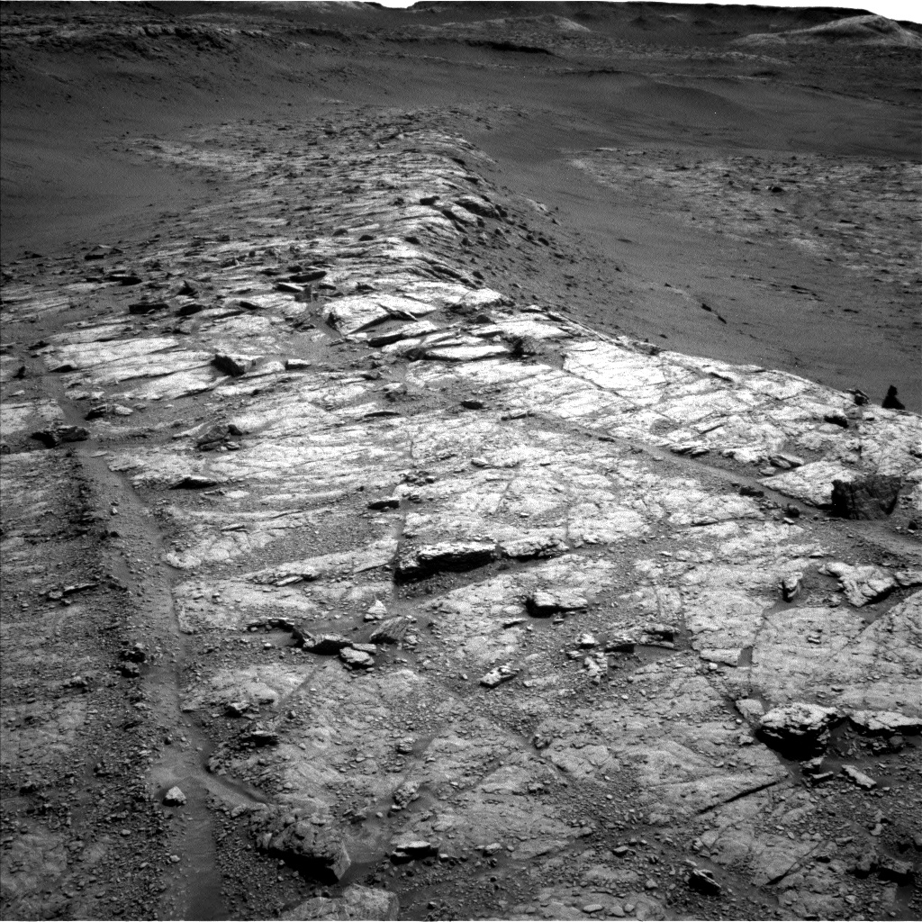 Nasa's Mars rover Curiosity acquired this image using its Left Navigation Camera on Sol 2943, at drive 1974, site number 83