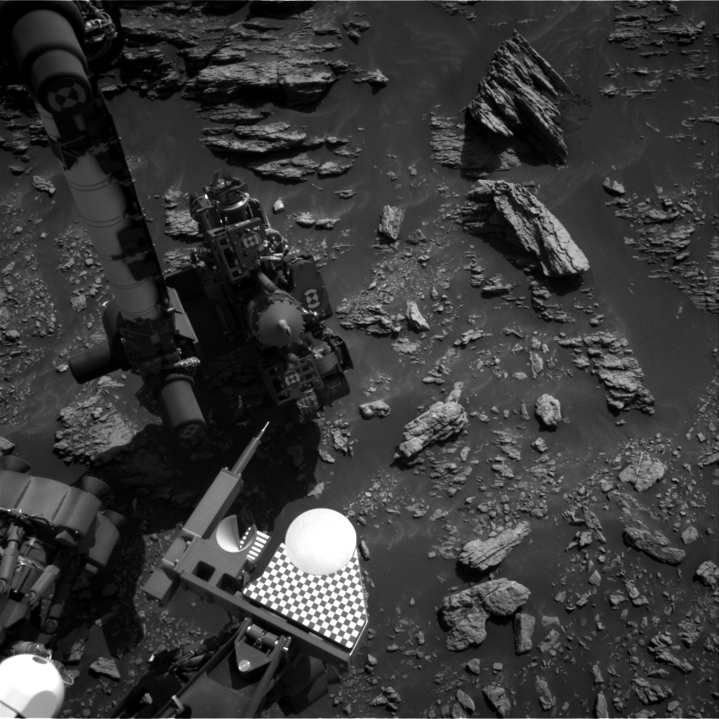 Nasa's Mars rover Curiosity acquired this image using its Right Navigation Camera on Sol 2943, at drive 1584, site number 83