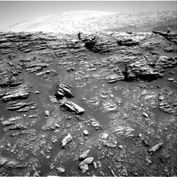 Nasa's Mars rover Curiosity acquired this image using its Right Navigation Camera on Sol 2943, at drive 1590, site number 83