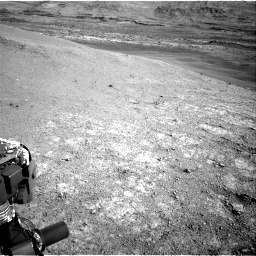 Nasa's Mars rover Curiosity acquired this image using its Right Navigation Camera on Sol 2943, at drive 1950, site number 83