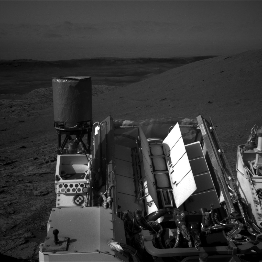 Nasa's Mars rover Curiosity acquired this image using its Right Navigation Camera on Sol 2943, at drive 1974, site number 83