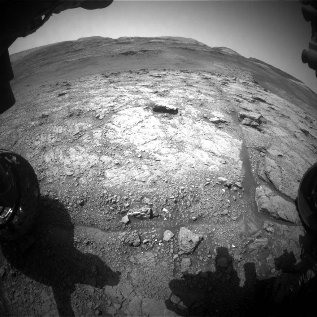 Nasa's Mars rover Curiosity acquired this image using its Front Hazard Avoidance Camera (Front Hazcam) on Sol 2944, at drive 1974, site number 83
