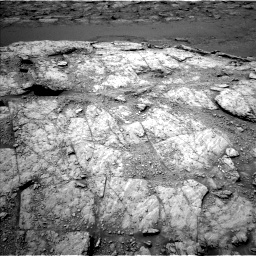 Nasa's Mars rover Curiosity acquired this image using its Left Navigation Camera on Sol 2947, at drive 1980, site number 83