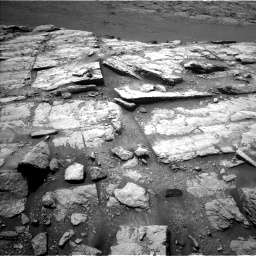 Nasa's Mars rover Curiosity acquired this image using its Left Navigation Camera on Sol 2947, at drive 2070, site number 83