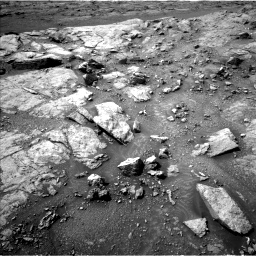 Nasa's Mars rover Curiosity acquired this image using its Left Navigation Camera on Sol 2947, at drive 2142, site number 83