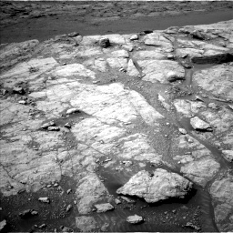 Nasa's Mars rover Curiosity acquired this image using its Left Navigation Camera on Sol 2947, at drive 2160, site number 83