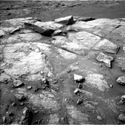 Nasa's Mars rover Curiosity acquired this image using its Left Navigation Camera on Sol 2947, at drive 2208, site number 83