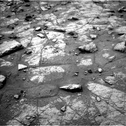 Nasa's Mars rover Curiosity acquired this image using its Left Navigation Camera on Sol 2947, at drive 2370, site number 83