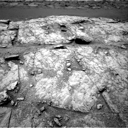 Nasa's Mars rover Curiosity acquired this image using its Right Navigation Camera on Sol 2947, at drive 1992, site number 83