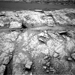 Nasa's Mars rover Curiosity acquired this image using its Right Navigation Camera on Sol 2947, at drive 2004, site number 83