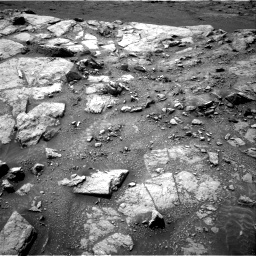 Nasa's Mars rover Curiosity acquired this image using its Right Navigation Camera on Sol 2947, at drive 2106, site number 83