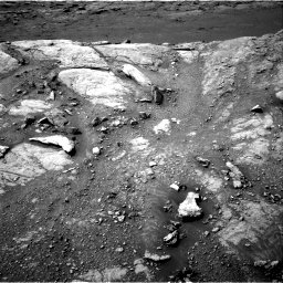 Nasa's Mars rover Curiosity acquired this image using its Right Navigation Camera on Sol 2947, at drive 2184, site number 83