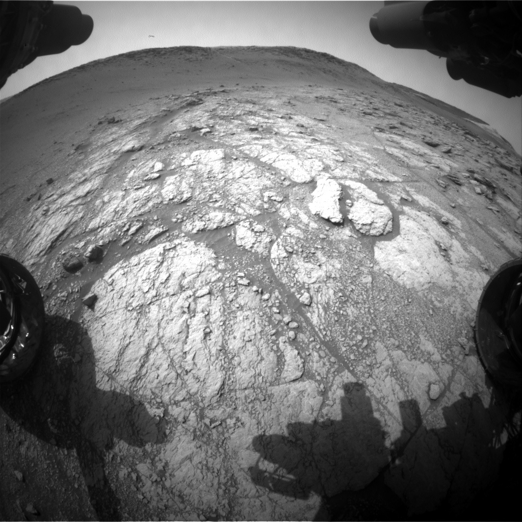 Nasa's Mars rover Curiosity acquired this image using its Front Hazard Avoidance Camera (Front Hazcam) on Sol 2948, at drive 2382, site number 83