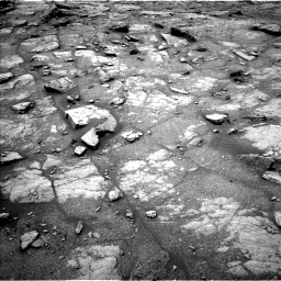 Nasa's Mars rover Curiosity acquired this image using its Left Navigation Camera on Sol 2950, at drive 2388, site number 83