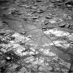Nasa's Mars rover Curiosity acquired this image using its Left Navigation Camera on Sol 2950, at drive 2406, site number 83