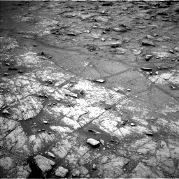 Nasa's Mars rover Curiosity acquired this image using its Left Navigation Camera on Sol 2950, at drive 2412, site number 83