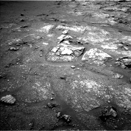 Nasa's Mars rover Curiosity acquired this image using its Left Navigation Camera on Sol 2950, at drive 2436, site number 83