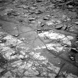 Nasa's Mars rover Curiosity acquired this image using its Right Navigation Camera on Sol 2950, at drive 2406, site number 83